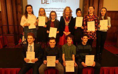 Duke of Edinburgh Award Ceremony