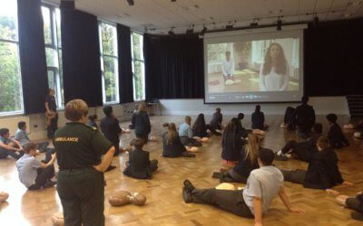 Year 10 Restart a Heart Day