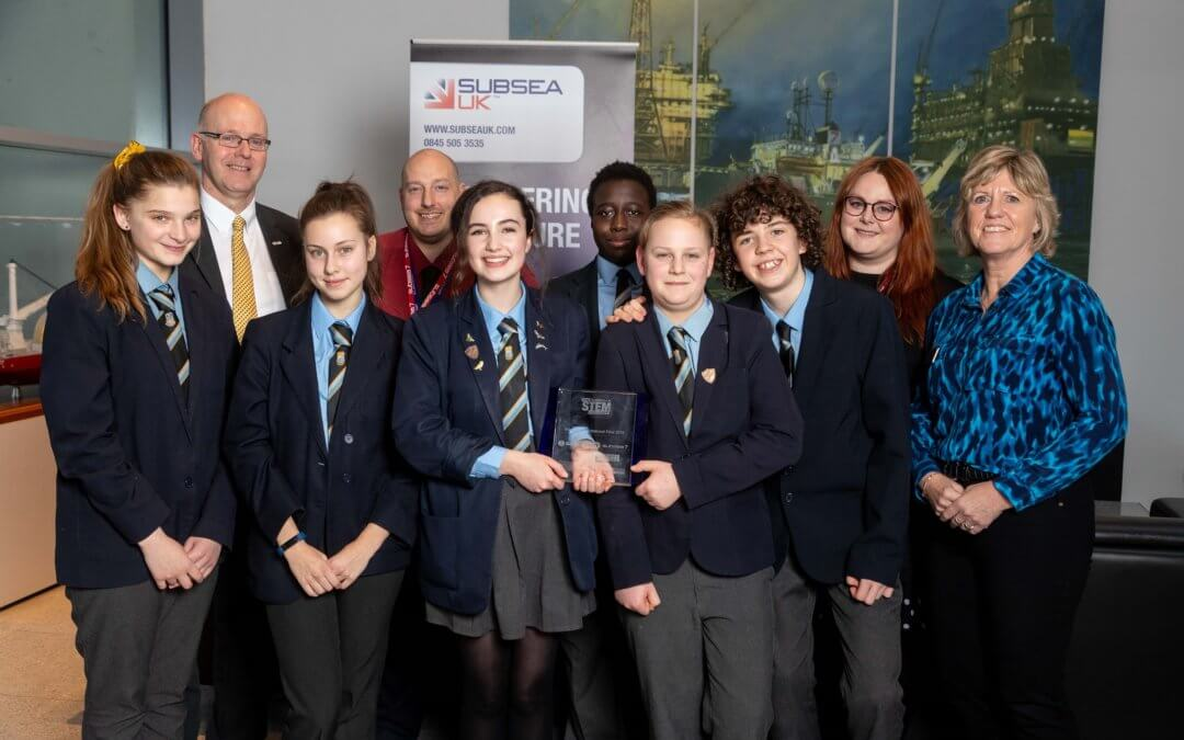 All Saints' team victorious in Subsea UK's STEM Challenge