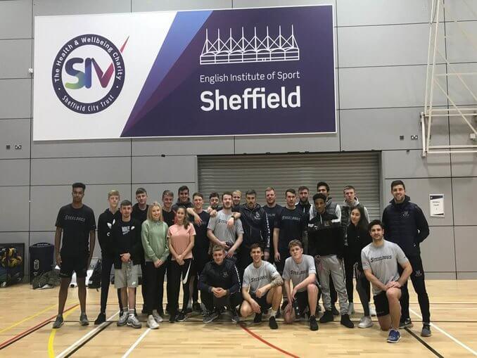 Year 12 BTEC Sport Students Workshop with Sheffield Steeldogs