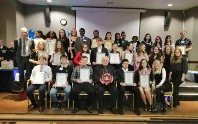 Inspiring Youth Award Winners!