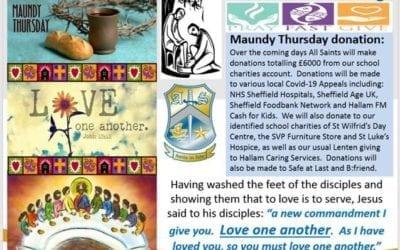 Maundy Thursday Donations